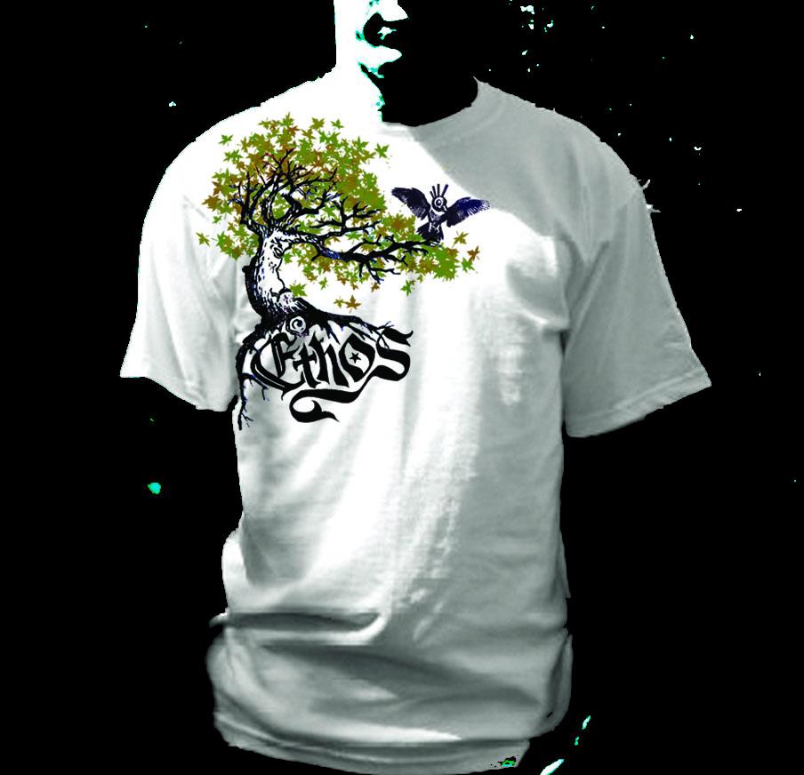 Ethos band t shirt design laelalon for Making band t shirts