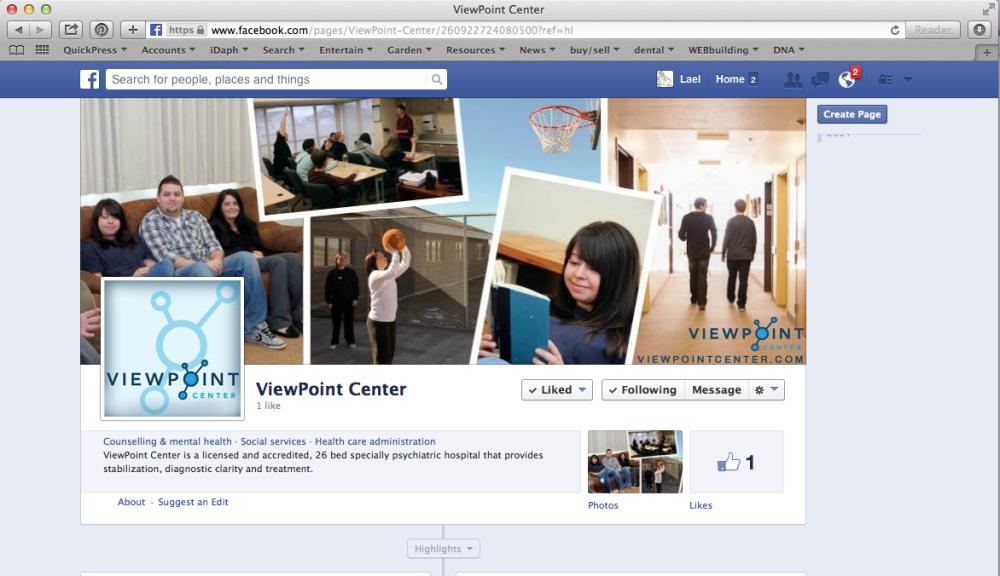 ViewPointCenterFacebook